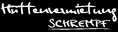 Hüttenurlaub Salzburg / Hüttenvermietung Logo